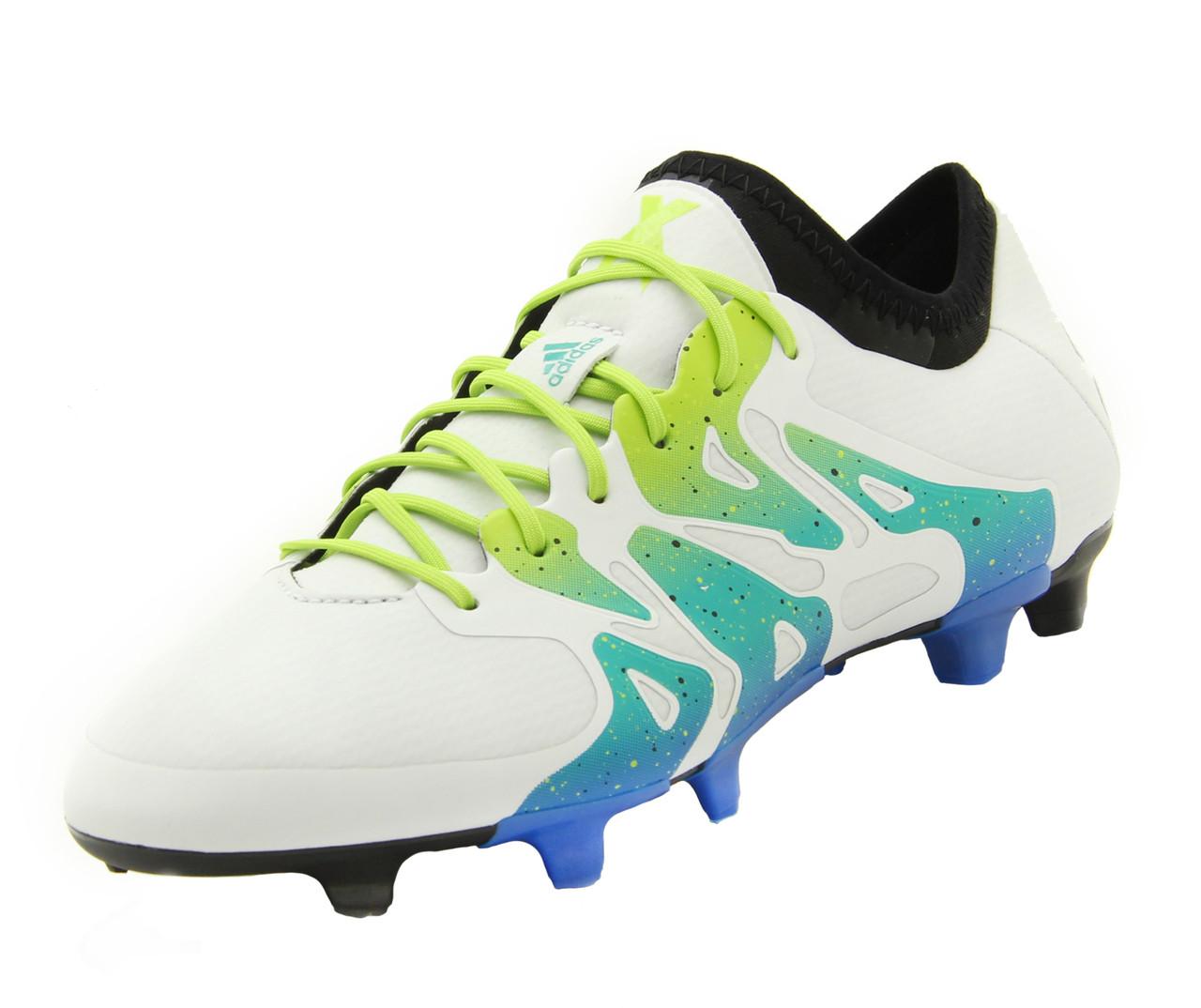 separation shoes e45ce 83971 Adidas X 15.1- White/Semi Solar Slime/Core Black SD (11219)