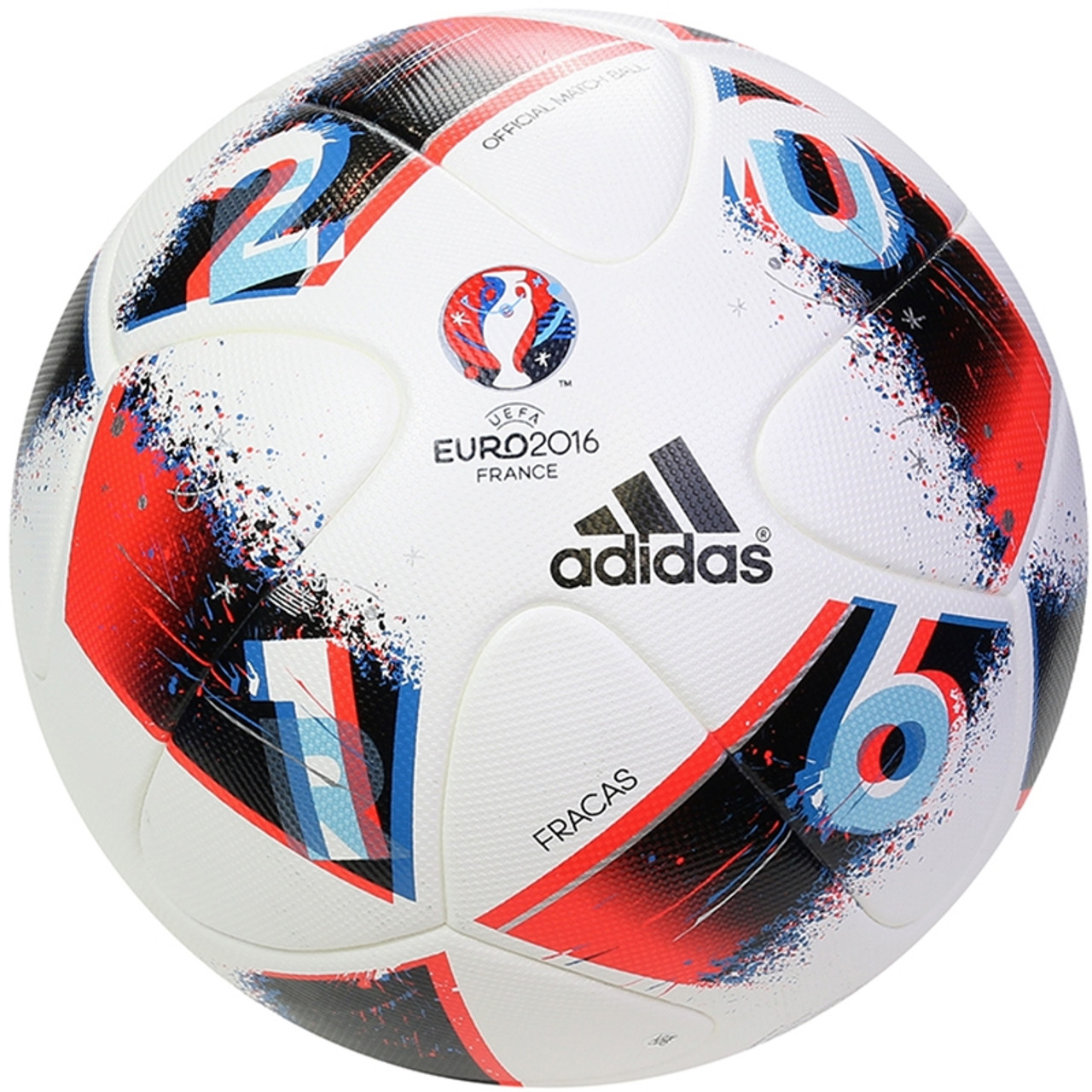 new appearance quality products new photos Adidas UEFA EURO 2016™ Official Match Ball - White/Pool/Dark Indigo (060319)