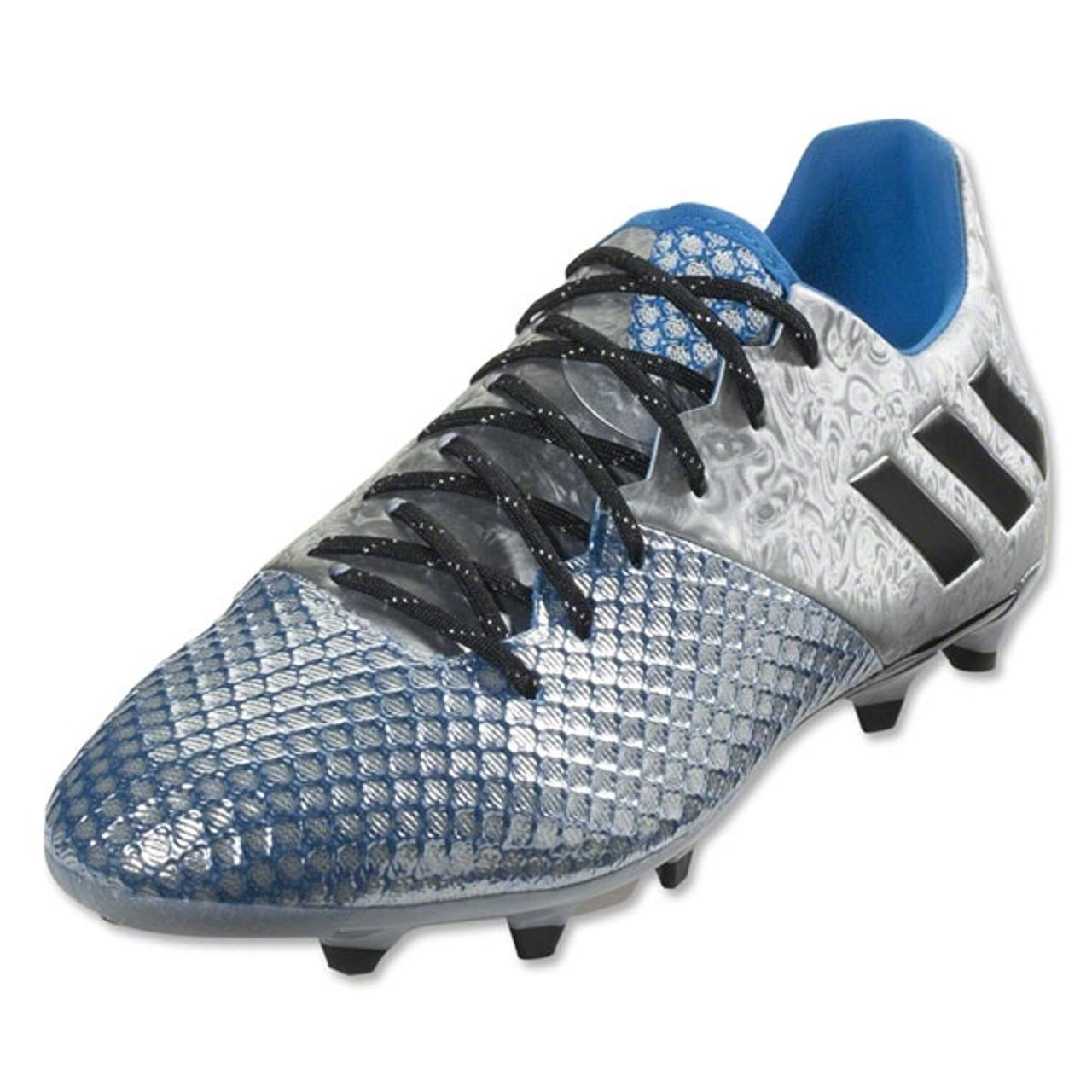adidas Messi 16.2 FG Firm Ground Football Boots Mens Blau