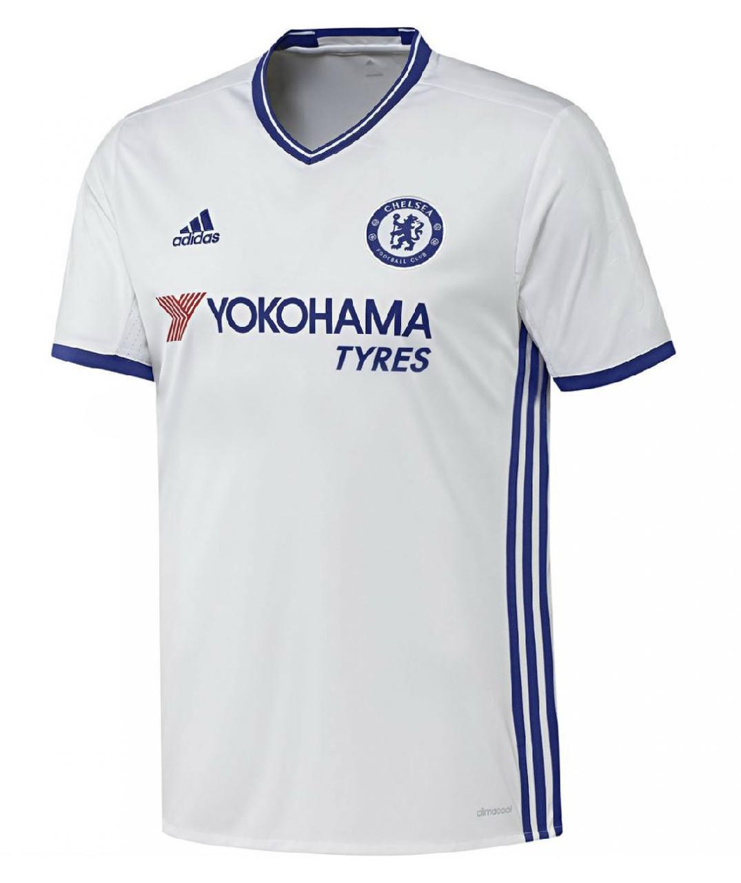 7f9e65c55 Adidas Chelsea FC Third Kit 16 17 - White Chelsea Blue - ohp soccer