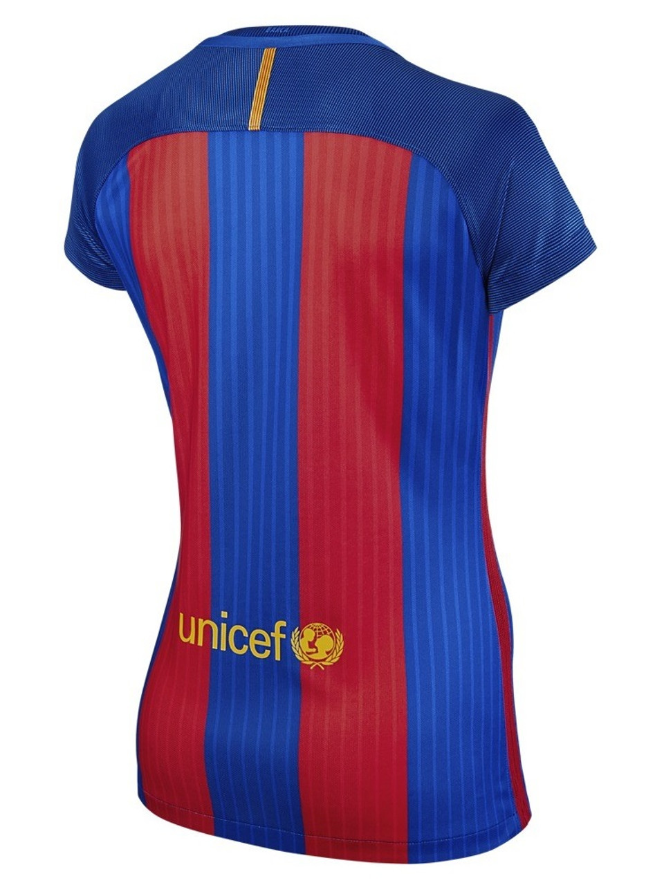 cheap for discount 854b3 64b99 Nike Womens FC Barcelona Home Jersey 16/17 - Red/Blue (31218)