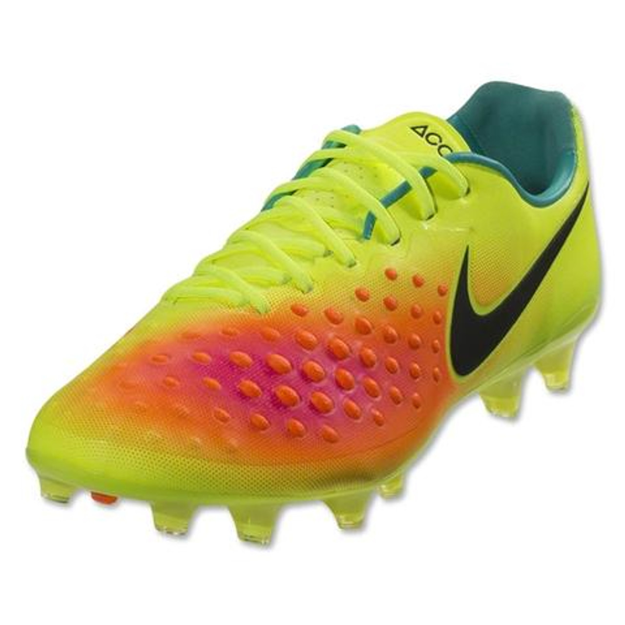 ab03680b87 Nike Magista Opus II FG - Volt Total Orange Pink Blast Black (100518) - ohp  soccer