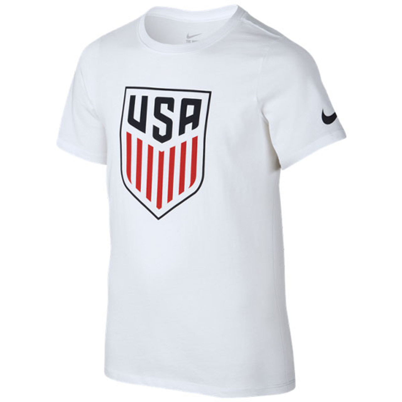 f23d8ad33e8 Nike Youth USA Crest T‑shirt - White - ohp soccer