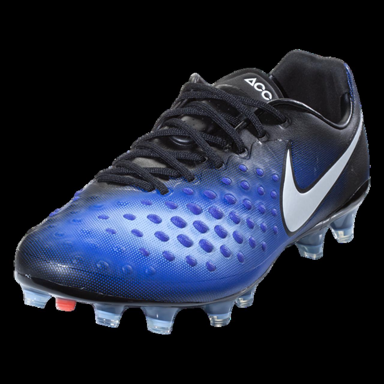 280b297d6892d Nike Magista Opus II FG - Black/White/Paramount Blue/Aluminum (052519) -  ohp soccer