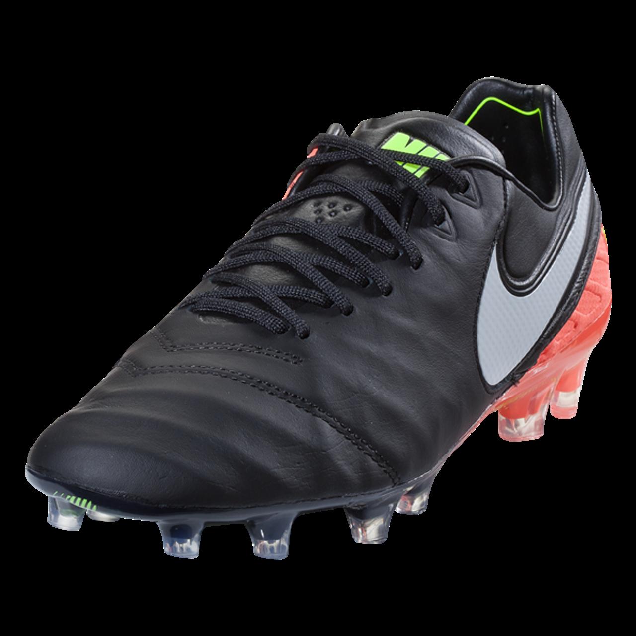13bc83827 Nike Tiempo Legend VI FG - Black/White/Hyper Orange/Volt RC (031419) - ohp  soccer