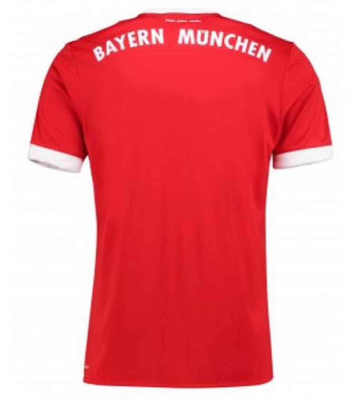 6a828870b ... Adidas Bayern Munich 2017-2018 Home Jersey - True Red White (050519).  Add to Cart
