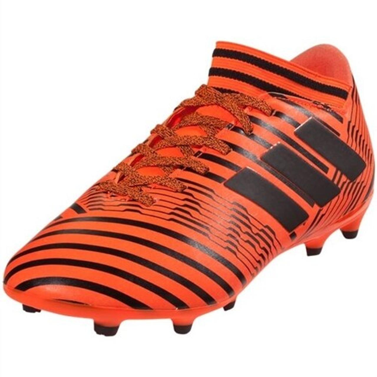 Dramaturgo Punto de partida Perenne  Adidas Nemeziz 17.3 FG J - Solar Orange/Black/Solar Red (052120) - ohp  soccer