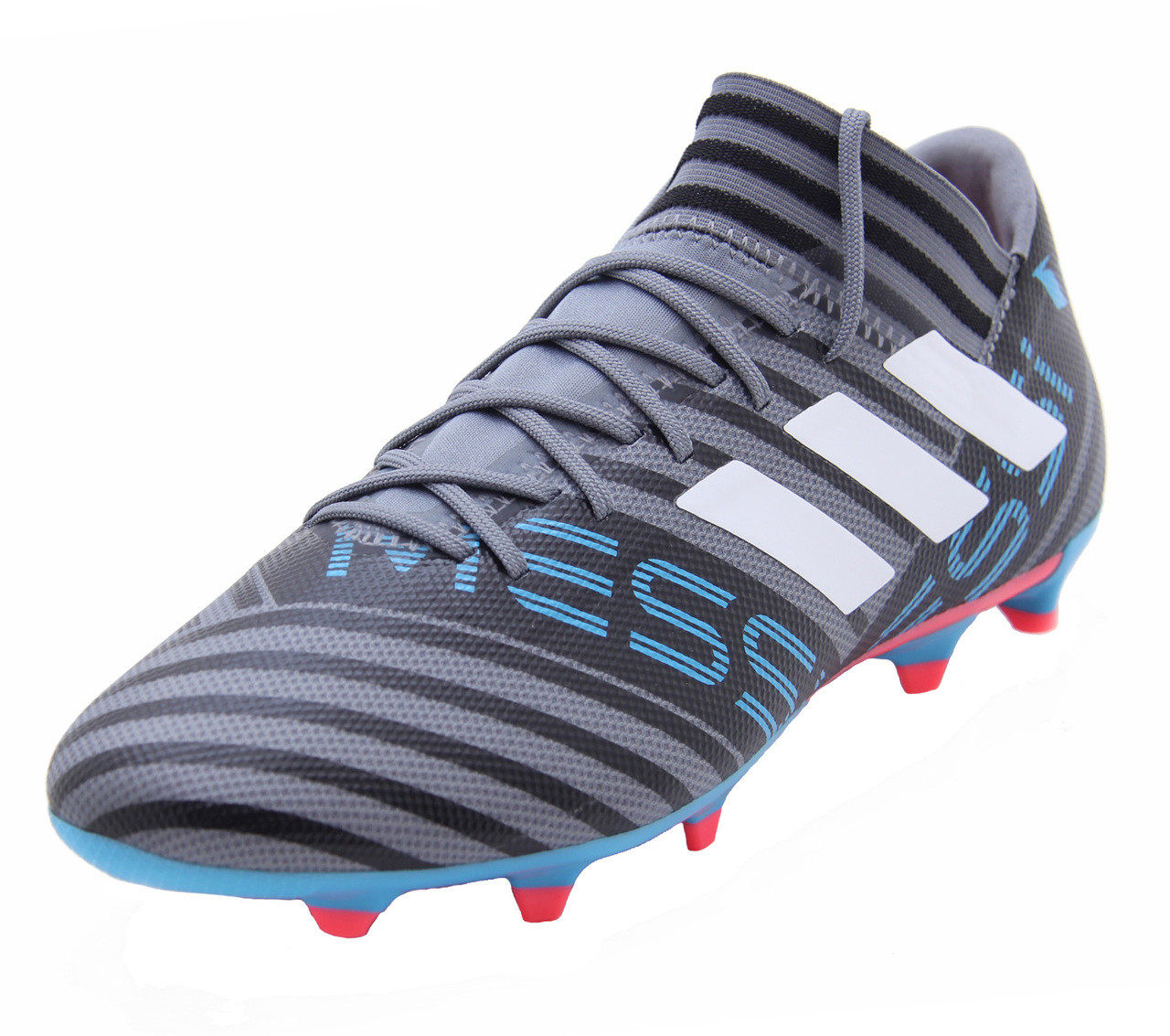 86744b41c40 Adidas Nemeziz Messi 17.3 FG - Grey White Core Black (011918) - ohp soccer