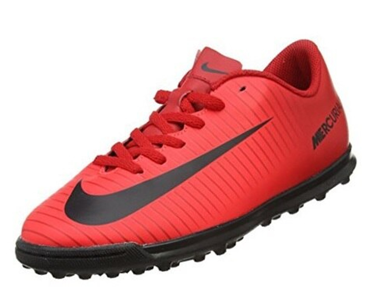 fecha Paternal Cerdito  JR Nike MercurialX Vortex III TF - University Red/Black/Bright Crimson-  (061220) - ohp soccer