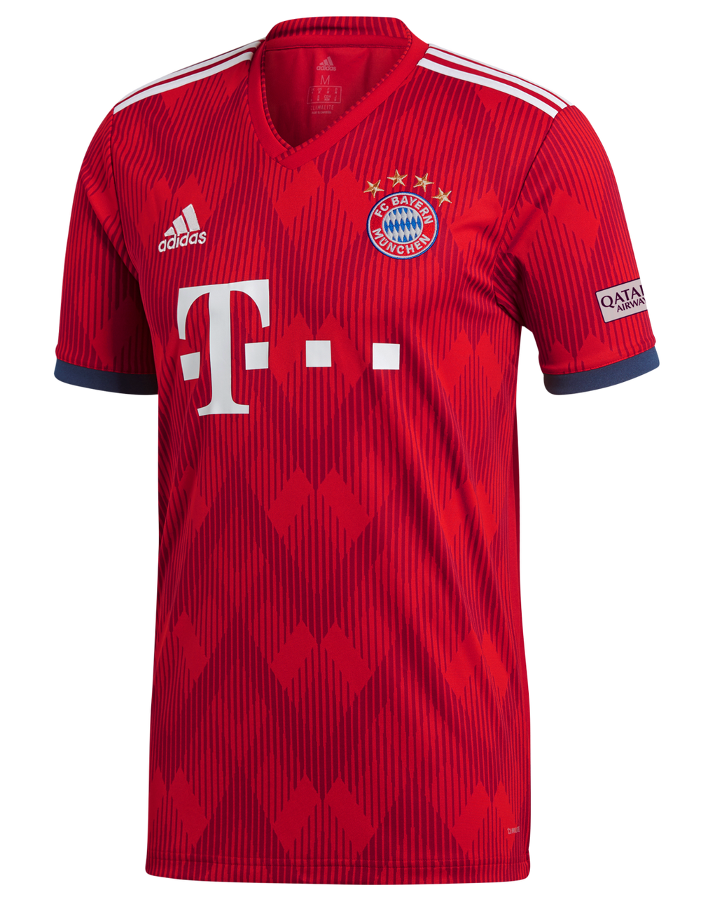 49db0c89e07 Adidas FC Bayern Munich Home Jersey 18 19 - Red White (51818) - ohp ...