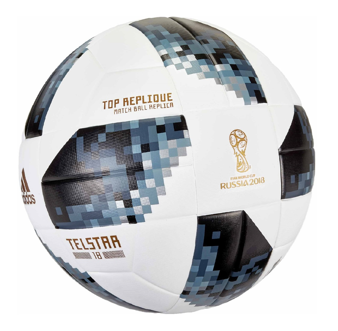 8adf79741 Adidas Fifa World Cup 2018 Replica Match Ball - White/Black (52818) - ohp  soccer