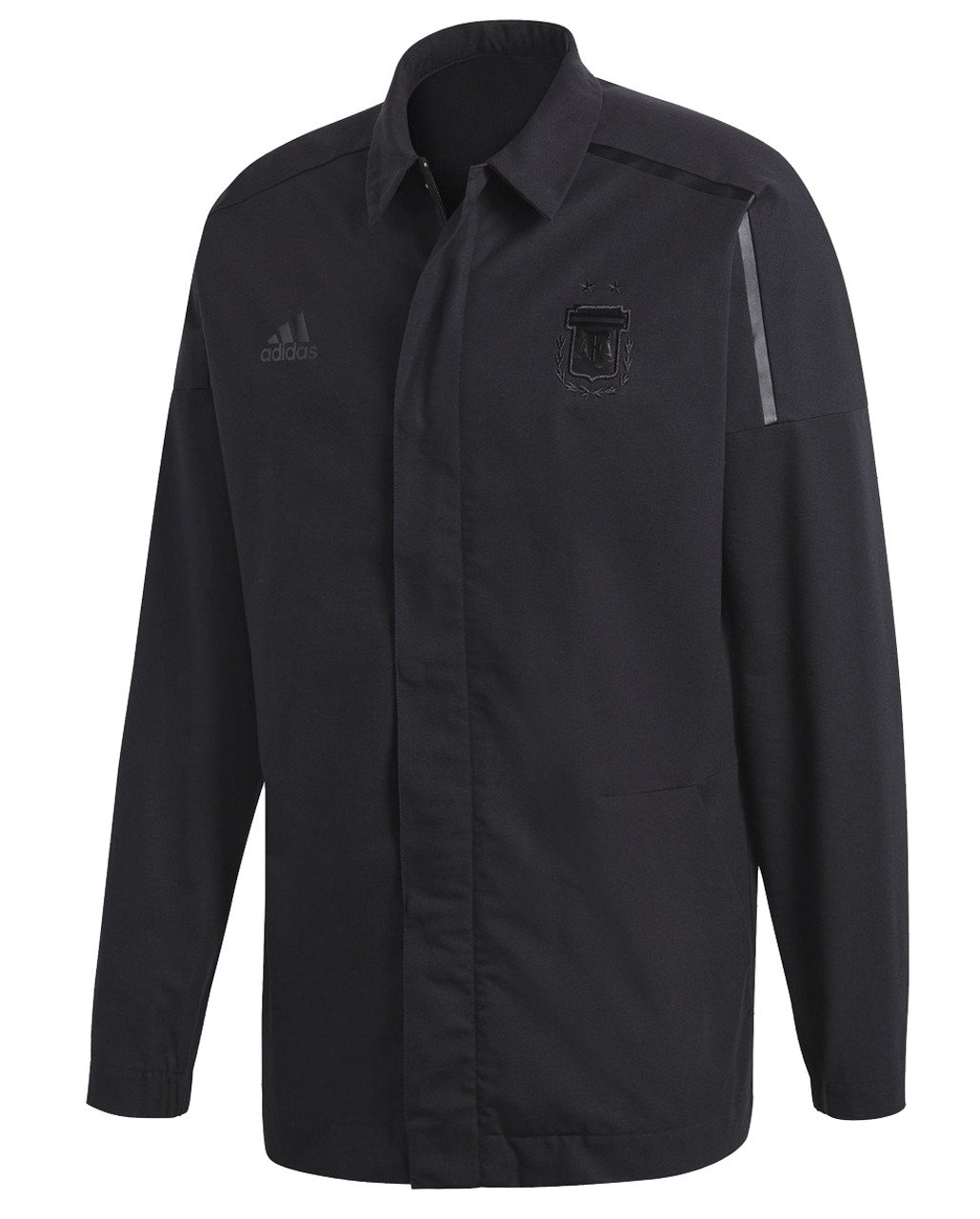 8a63e22f2 Adidas Argentina Z.N.E Anthem Jacket - Black (52818) - ohp soccer
