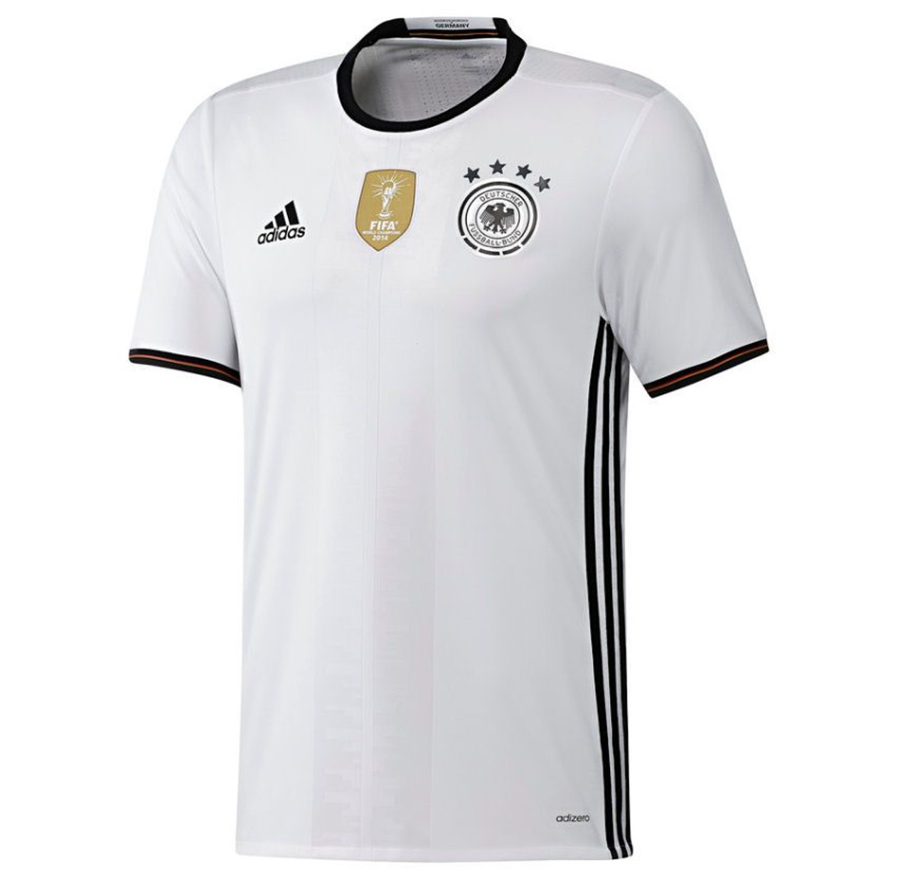 28b72b2f374 Adidas Germany Jersey 2016 17 -White Black (11218) - ohp soccer