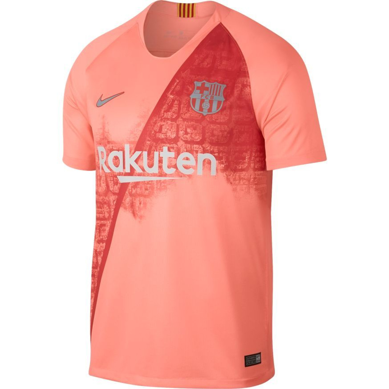 8436a675c00a Nike F.C Barcelona Third Jersey 18 19 - Light Atomic Pink Silver (031319) -  ohp soccer