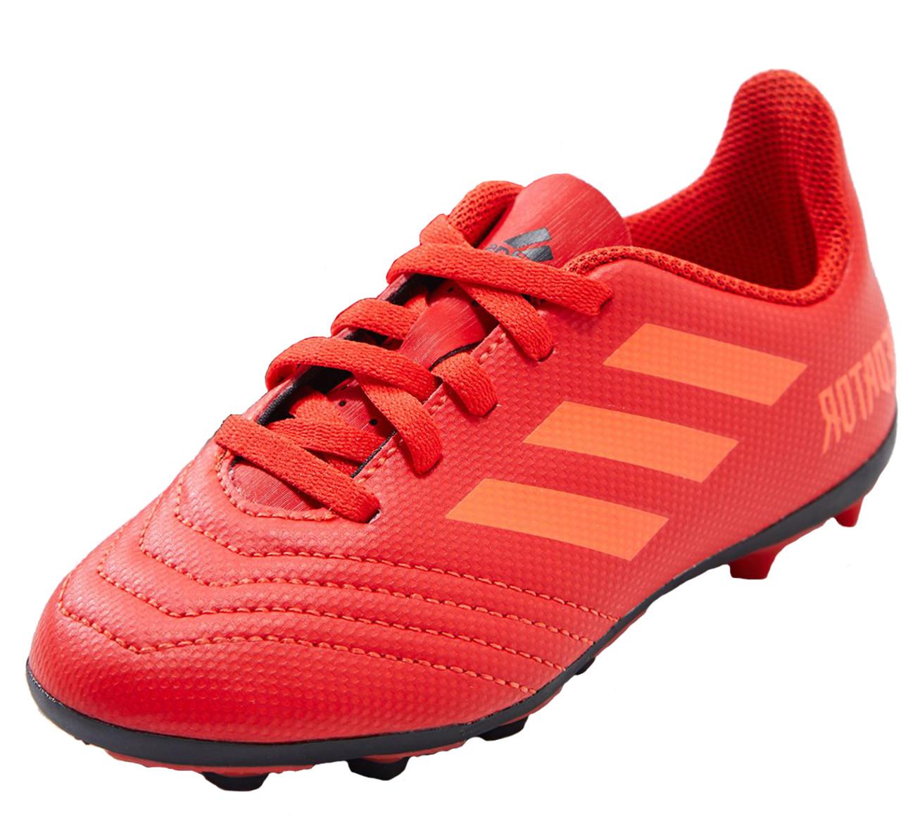 746564597 Adidas Predator 19.4 FG Jr - Active Red Solar Red Core Black (051319) - ohp  soccer