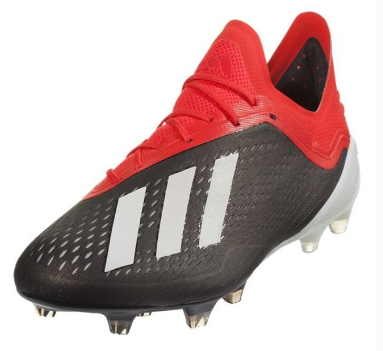 54b860220 Adidas X 18.1 FG - Core Black White Active Red (112818) - ohp soccer