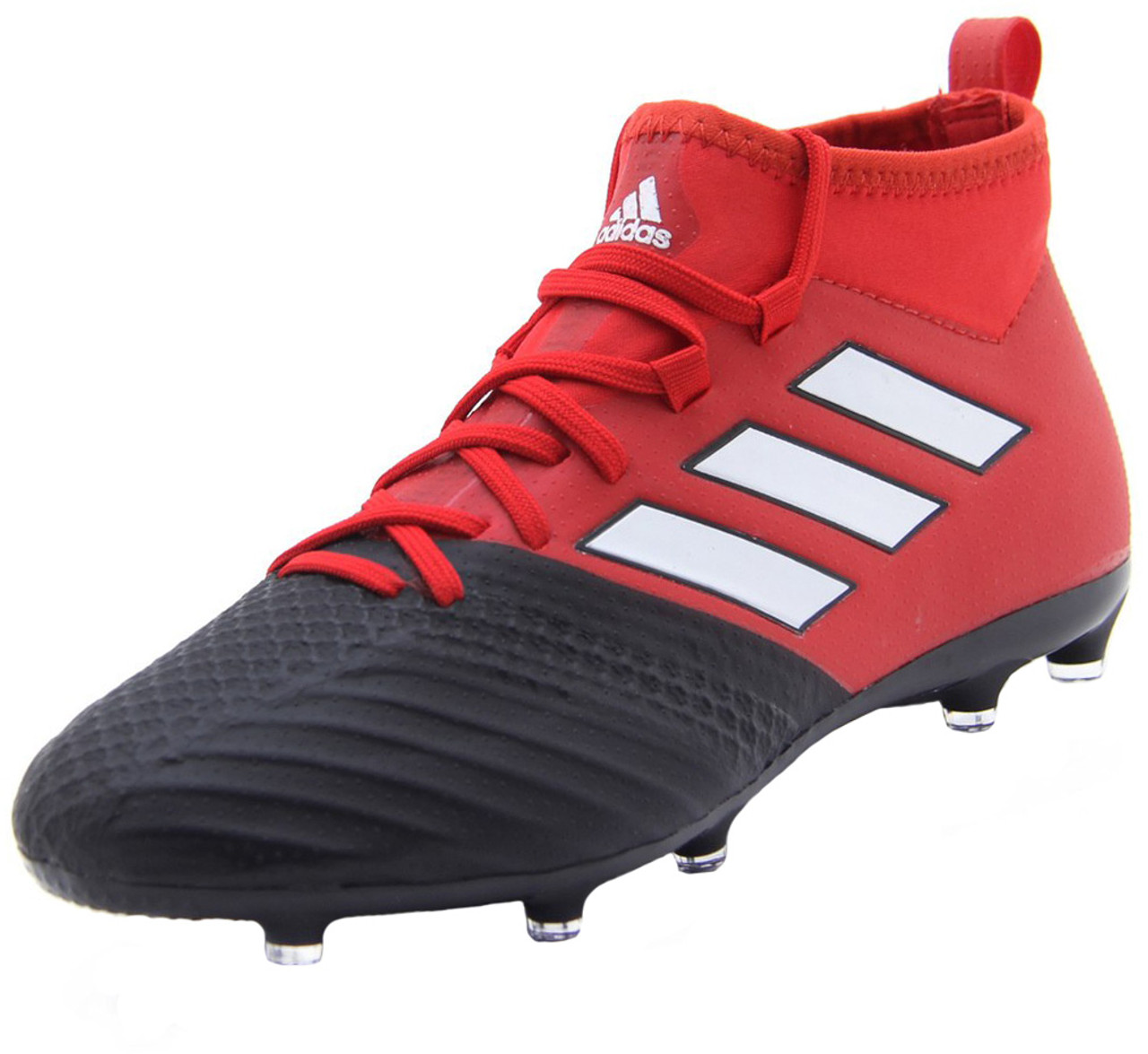 Adidas Ace 17.1 Purecontrol FG Jr - Black Red (0108190) - ohp soccer 6294a6841153