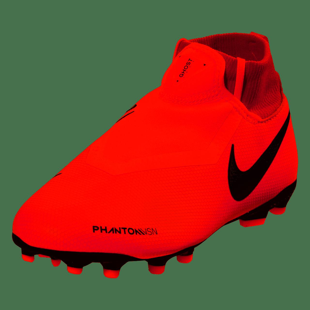 Nike Jr Phantom VSN Academy DF FG MG - Bright Crimson Metallic Silver  (011019) - ohp soccer 20e113954b
