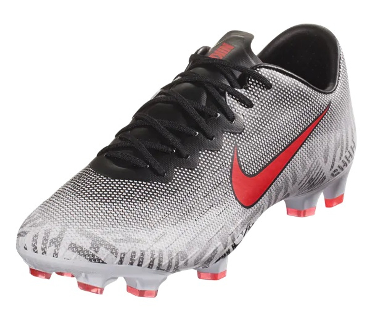 100% high quality picked up buy online Nike Mercurial Vapor Pro Neymar FG Soccer Cleats White Red ...
