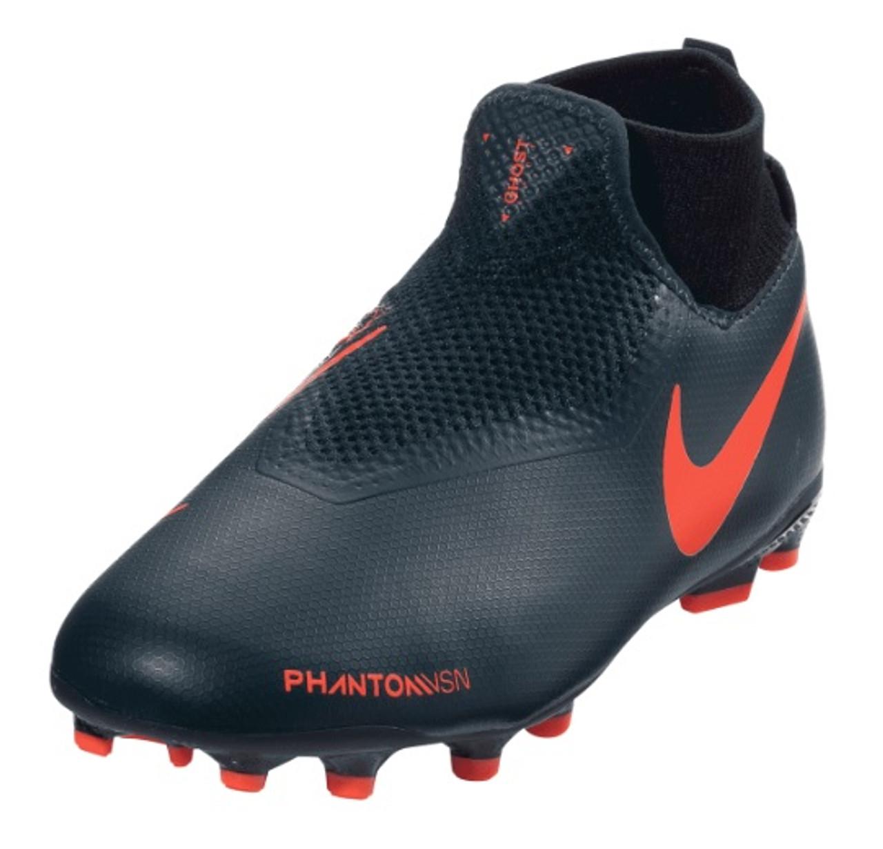 4859f55af90c Nike Jr. Phantom VSN Academy DF FG/MG - Obsidian/Bright Crimson/Black/Obsidian  (03519) - ohp soccer