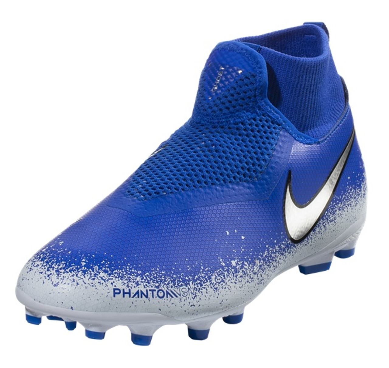 7843874d1eb Nike Jr. Phantom Vision Academy Dynamic Fit MG - Racer Blue Chrome White  (041919) - ohp soccer