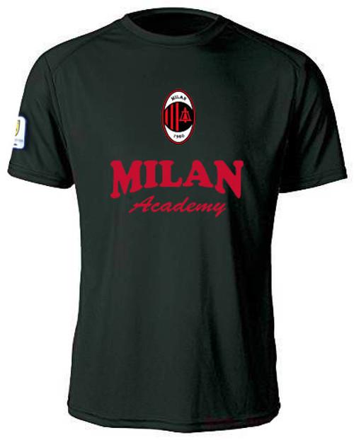 MIlan SC Training Jersey Youth - Black/Red