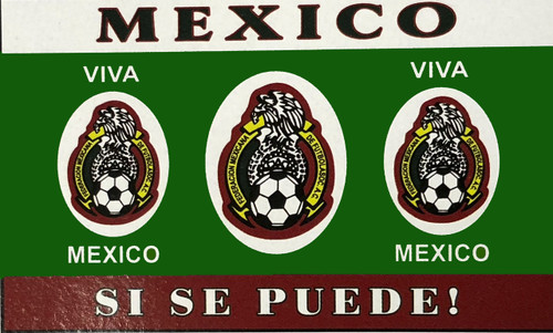 Mexico Fan Flag