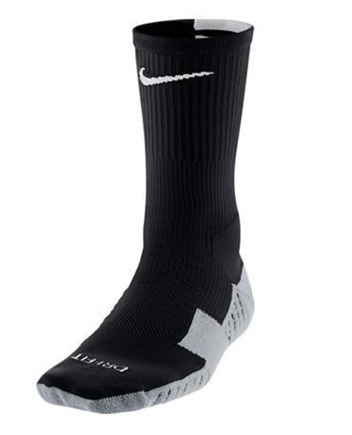 Nike Stadium Soccer Crew Sock - Black/White