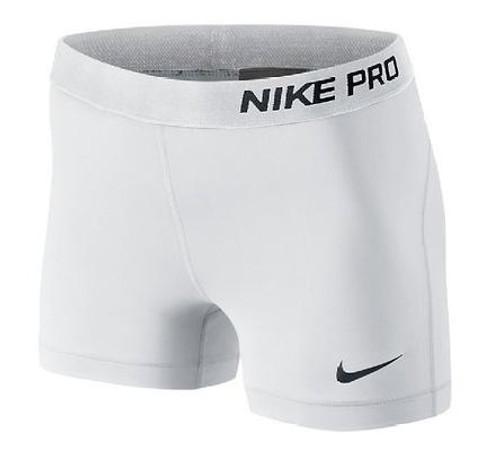 Nike Wmns Pro 3 Shorts - White