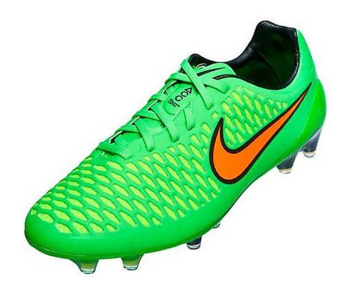 Nike Magista Opus FG - Poison Green/Total Orange/Flash Lime/Black SD (111617)