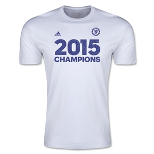 adidas Chelsea Champion T-Shirt 14/15 - White RC