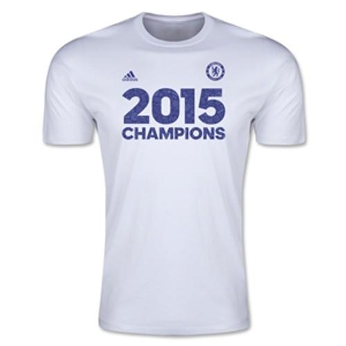 adidas Chelsea Champion T-Shirt 14/15 - White RC