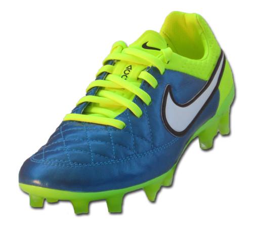 Nike Wmn's Tiempo Legend V FG - Blue/White (111518)