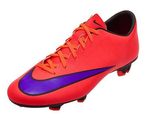 Nike Mercurial Victory V FG - Bright Crimson/Persian Violet (100918)