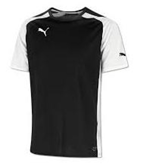 PUMA Mens Speed Jersey - Black/White