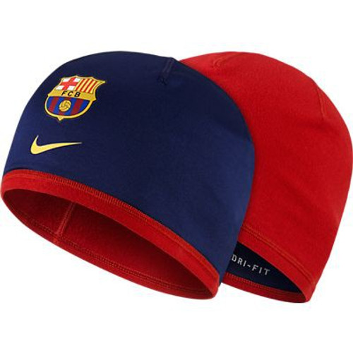 Nike Barcelona Training Beanie - Loyal Blue/Storm Red (12418)