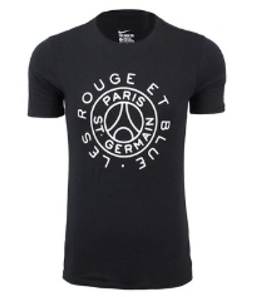 Nike PSG Squad T Shirt - Black