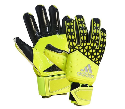 adidas Ace Zones Pro Gloves - Solar Yellow/Black