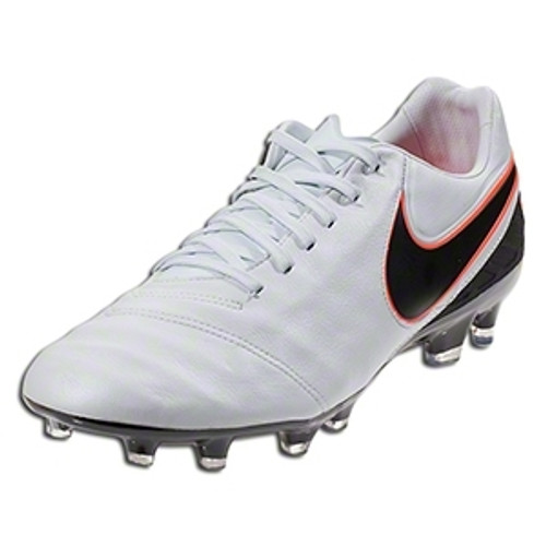 Nike Tiempo Legacy II FG - Pure Platinum/Black/Total Orange RC (112917)