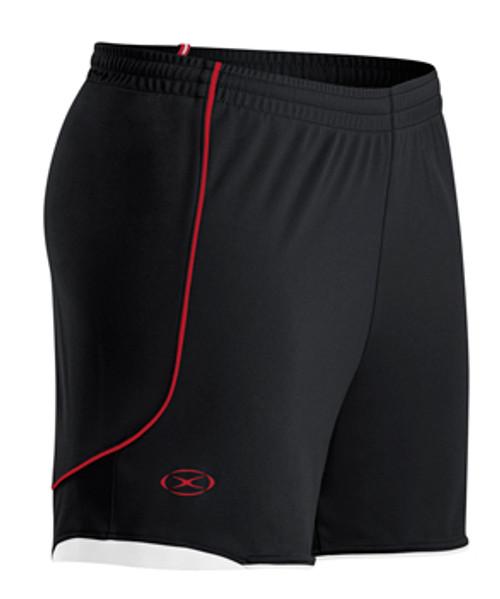 Milan SC Academy Women HM Shorts - Xara Pacifica - Black/Red