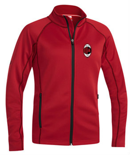 Milan SC Academy Men Warm Up Jacket - Xara Sevilla - Red/Black