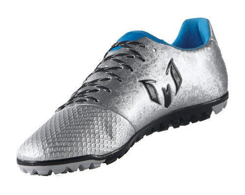 adidas Messi 16.3 TF - Silver/Black/Blue