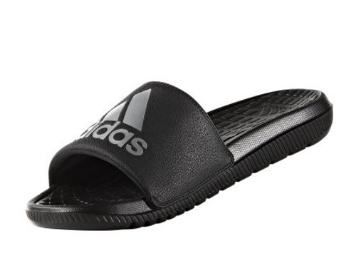 85497d10b adidas Voloomix Slide Sandals - Black White - Cheap Nike Football ...