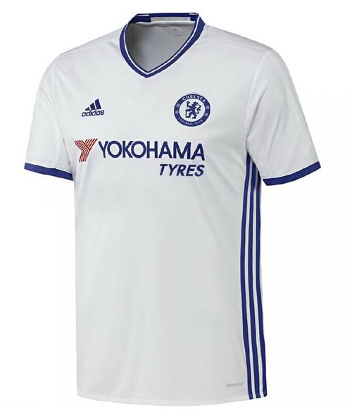 Adidas Chelsea FC Third Kit 16/17 - White/Chelsea Blue