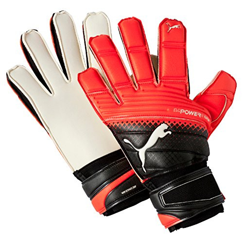 Puma EvoPower Protect 3.3 Goalie Gloves Black/Red (020819)