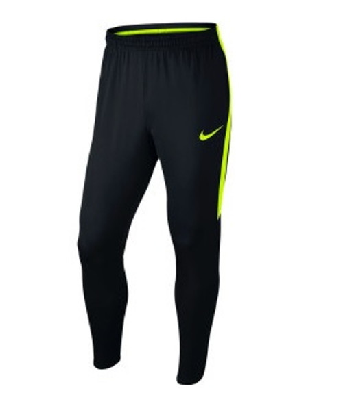 Nike Mens Squad Knit Pants - Black/Volt
