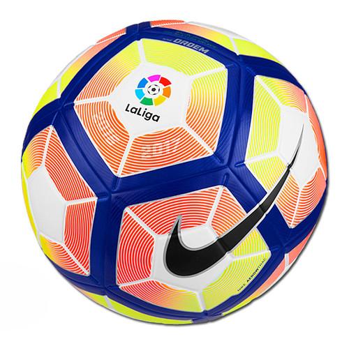 Nike Ordem 4 La Liga Ball - White/Orange/Blue (41518)