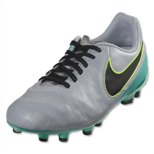 Nike Jr Tiempo Legend FG - Wolf Grey/Clear Jade/Black/Volt