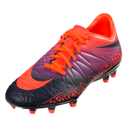 Hypervenom Phelon II FG - Total Crimson/Obsidian/Vivid Purple/Bright Crimson RC (111017)