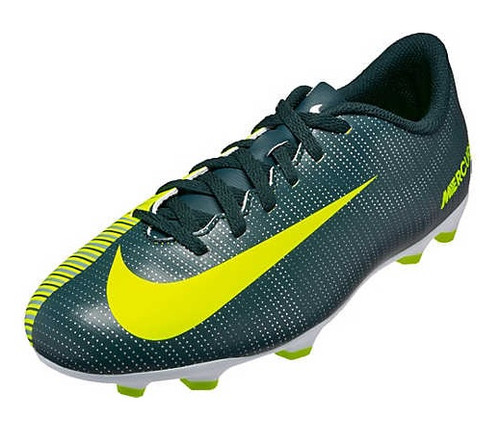 Nike Jr Mercurial Vortex III CR7 FG - Seaweed/Volt/Hasta/White RC (021919)